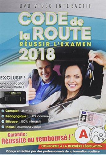 Code de la route 2018, réussir l'examen officiel [DVD Interactif]