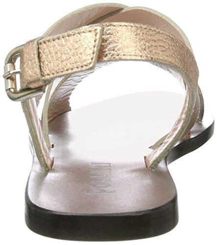 Pollini Solan, Sandali con Cinturino alla Caviglia Donna Rosa (Quartz)