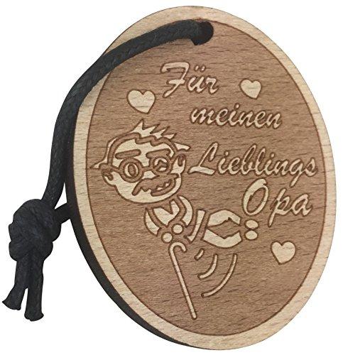 Toller Herz Schlüsselanhänger Für Meinen Lieblings Opa Geschenk aus Holz