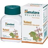 Himalaya Wellness Pure Herbs Tulasi Respiratory Wellness - 60 Tablets