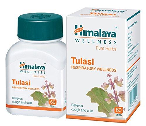 Himalaya Wellness Pure Herbs Tulasi Respiratory Wellness - 60 Tablet