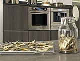 KitchenAid kotp 7030Backofen–Öfen (integriert, a-20%, Edelstahl, Knöpfe, drehbar, vor, LCD)