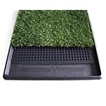 Topiaukstore XTELARY Puppy Toilet Dog Grass Restroom Potty Training with Tray and Loo Pad 9