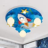 Cartoon Light Bambini 'S Room Boy Camera Led Protezione degli occhi (51 * 10Cm) -Home Warm Ceiling Lamp,Lampadina da 40 W Dragon Ball