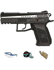 PACK pistola CZ 75 P-07 Dual Tone BLOWBACK de aire comprimido (CO2) <3,5J