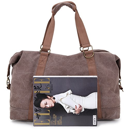 Domila Reisetasche, Brown-1 (braun) - N003 Brown-1