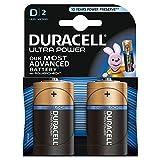 Duracell - Pila Alcalina Blister Duracell Ultra Power D - Lr20 - Blister De 2 - 1.5V 18Ah -...