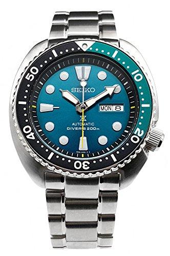 """Seiko Prospex 200m Diver da """"Green Turtle Limited Edition orologio SRPB01K1"""