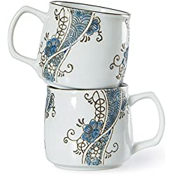 Juego de 2 Tazas de café En Una Caja de Regalo