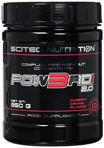 Scitec Nutrition Pre-workout  Pow3rd!, Kirsche, 350g
