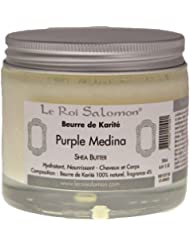 Le Roi Salomon - 3760092241091 - Beurre de Karite Purple Medina - 125 ml