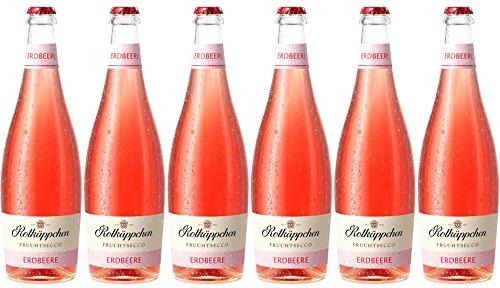 Rotkäppchen Fruchtsecco Erdbeere (6 x 0,75l) - Die rosa-rote, fruchtige Alternative im Glas.