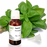 Allin Exporters Basil Oil - 100% Pure, Natural & Undiluted - 15 ML