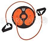 Twister Fitnessscheibe Drehscheibe mit Seilen Traininer Trimmscheibe Fitness LCD