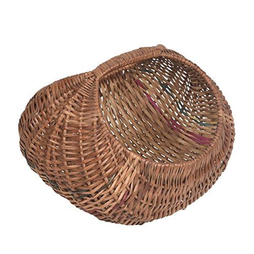 A & E Unique Multi Purpose Brown Cane Basket