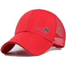 Amazon.es  gorra blanca - Rojo 3a959e43bce