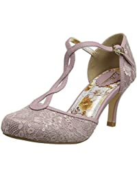cb6ab4abaec5 Joe Browns Womens Lace and Sequin T-Bar Shoes