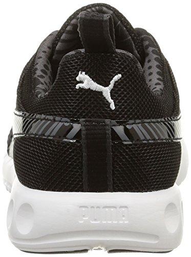 Puma Carson Fs Graph, Baskets Basses Femme Noir (Blanc)
