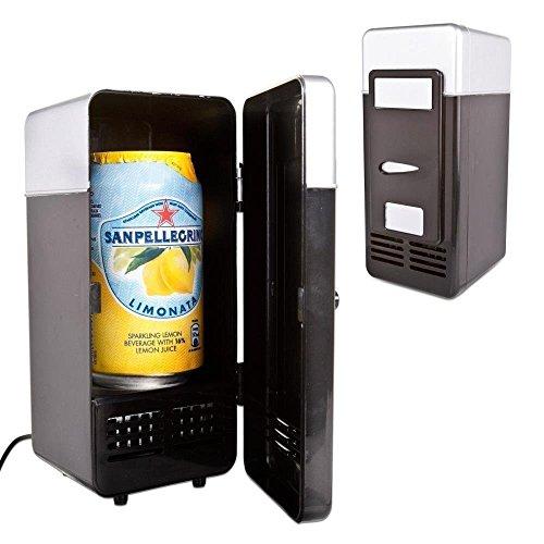 Winterworm Mini-Kühlschrank, USB-Kühlschrank, Kühler / Wärmer für Getränke, Dosen, Schreibtisch-Kühlschrank (Schreibtisch-kühlschrank)