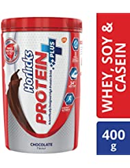 Horlicks Protein+ Health and Nutrition Drink Pet Jar - 400 g (Chocolate)