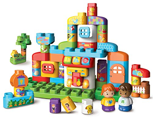 VTech Bla Bla Blocks MA Maison Alphabet Interactive Niño/niña - Juegos educativos (AA, 450 mm, 133 mm, 330 mm, 2,1 kg)
