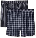 Marc O'Polo Body & Beach Herren M 2-Pack Boxershorts, Blau (Nachtblau 804), Medium (erPack 2)