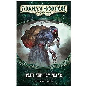 Fantasy Flight Games ffgd1104Arkham Horror: LCG-Sangre en el Altar Mythos de Pack (3) de Dunwich Alemán