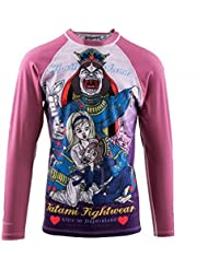 "Tatami Rosa ""Alice in Wonderland"" Manga Larga Mujer Camiseta De Neopreno - X-Large"