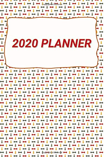 2020 Planner: Mens Tie Wallpaper Journal