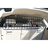 HEAVY DUTY MESH UNIVERSAL DOG GUARD HATCHBACK ESTATE TRAVEL CAGE (Large)