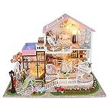 DIY Sweet Madera Miniatura casa de muñecas Hecho a Mano Montaje...