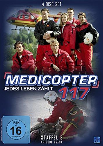 Medicopter 117 - Jedes Leben zählt (Staffel 3: Folge 22-34 im 4 Disc Set)