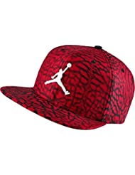 Nike Jumpman Seasonal SB - Gorra Línea Michael Jordan unisex, color rojo / negro / blanco, talla MISC