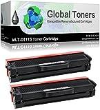 Compatible MLT-D111S Laser cartouche de toner pour Samsung Xpress M2020, M2020W, M2022, M2022W, M2070, M2070F, M2070FW, M2070W imprimantes–Noir 2 Toner Cartridges noir