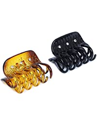 SVAZ Premium Quality Hair Claw/Hair clutcher/Hair Accessories for Women and Girls Set of 2/Stylish Pins, Daily wear Girls Accessories