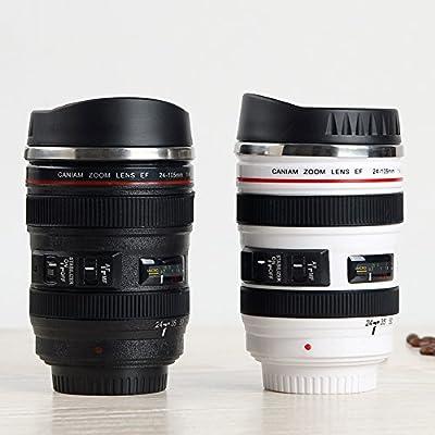 JARBO SLR Camera Lens Mug Coffee mug Tea mug Water mug Tea Cup Great Gift by JARBO