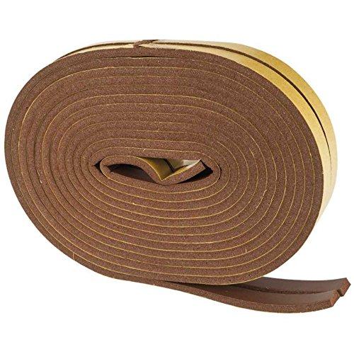 Joint adhésif PVC marron, profil 'I' 6M