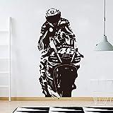 zzlfn3lv Valentino Rossi VR Der Arzt Autorennen Wandtattoo Jungenzimmer Kinderzimmer Motorrad Racing...