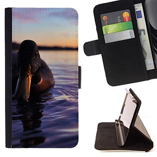 FJCases Ente Tier Tasche Brieftasche Hülle Schale Standfunktion Schutzhülle für HTC U11