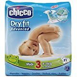 Chicco Dry Fit Advanced Set de 21 Couches Midi Taille 3