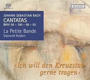Johann Sebastian Bach: Kantaten BWV 56 / 180 / 98 / 55 (Kantaten für das Kirchenjahr Vol. 1)