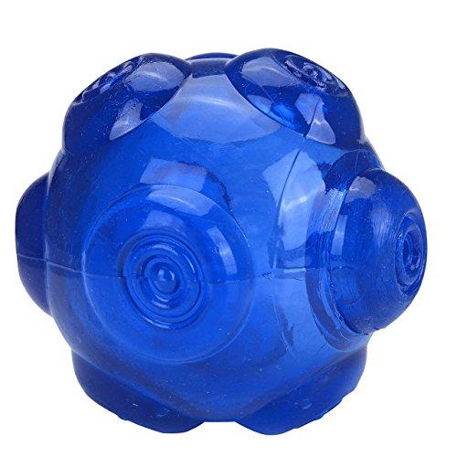 Bild: Splink Hundespielzeug Ball aus NaturGummi mit Zahnpflege Funktion Hundeball Kauspielzeug für Alle Hunde