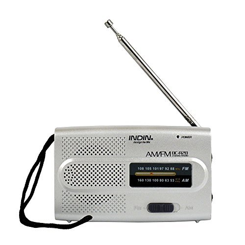WiseField Portable Mini Radio AM/FM Receiver World Universal FM 88-108 AM 530-1600 KHz