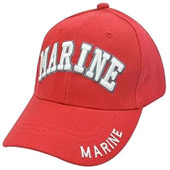 Joint de US Marine Corps Semper FI marines Rouge Chapeau Taille unique
