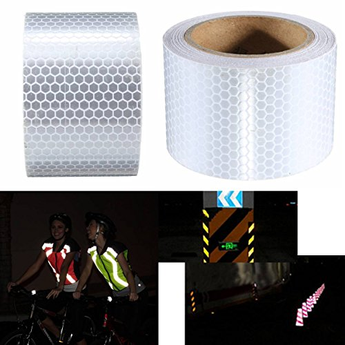 king-do-way-5m50mm-reliable-high-intensity-reflective-safety-tape-vinyl-roll-self-adhesive-white