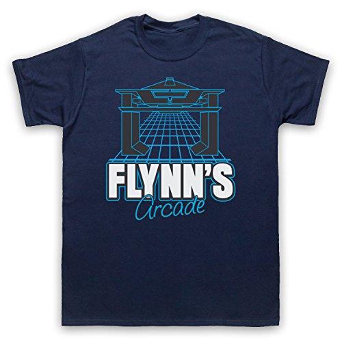 The Guns Of Brixton Tron Flynns Arcade Herren T-Shirt, Ultramarinblau, 4XL (In Arcade 60 Einem)