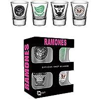 GB Eye LTD, Ramones, Mix, Vasos de chupito 20 ML