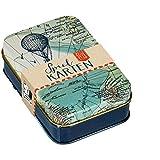 Set carte da gioco in cofanetto metallico - Tempo Di Viaggio