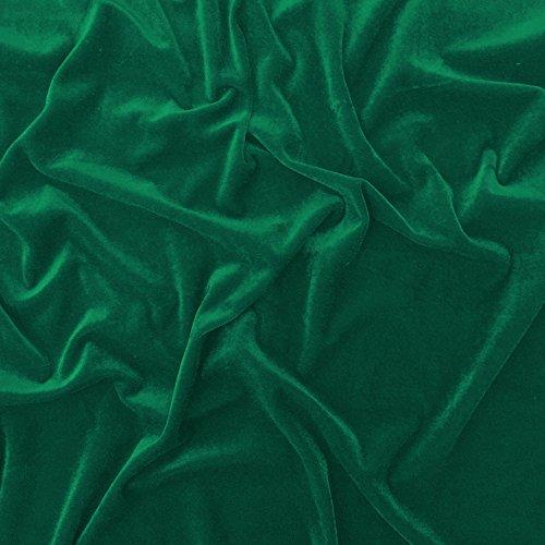 Aqua Samt Super Weich Velours Stoff, Kleid, Tanz, Kostüm, Abend–150cm breit (Pro Meter) (Aqua Tanz Kostüm)