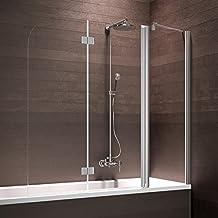 Suchergebnis auf Amazon.de für: duschwand 3 teilig | {Duschabtrennung badewanne faltbar 97}